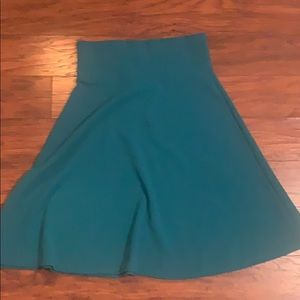 Lularoe skirt large like new!